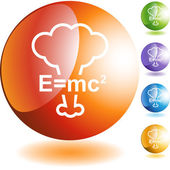 Energy Equation web button — Stockvektor