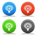 Big Idea Lightbulb — Stock Vector #68373573