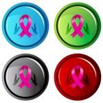 3d Charity Awareness Ribbon — Stock Vector #68375257