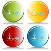 Infinite Renewable Energy — Stockvektor