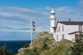 Lobster Cove Head Lighthouse in Gros Morne National Park, Newfou — Stock Photo