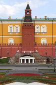 Alexander trädgård i moskva. — Stockfoto