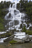 Waterfall in Norway. — Stock Photo