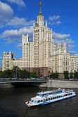 Stalin's Empire style building. — Stock Photo