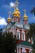 Novodevitsj klooster, moskou, rusland. — Stockfoto