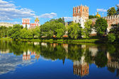 Novodevichy Convent in Moscow. — Stock Photo