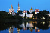 Novodevichy convent in Moscow, Russia. — Stock Photo