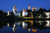 Novodevichy convent in Moscow, Russia. — Stockfoto