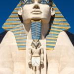 Replica of Great Sphinx in front of Luxor Hotel in Las Vegas — Stock Photo #63066253