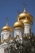 The Annunciation Cathedral, Moscow, Kremlin, Russia. — Stock Photo