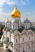Archangel cathedral of the Moscow Kremlin. — Stock Photo