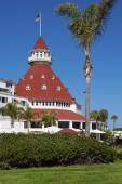 Hotel Del Coronado in San Diego, California, USA — Stock Photo