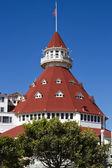Hotel Del Coronado in San Diego, California, USA — Stock Photo