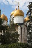 The Assumption Cathedral, Moscow Kremlin, Russia. — Stock Photo