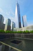 Ground Zero, New York City, USA — Stock Photo