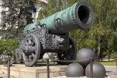 The Tsar Cannon, Moscow Kremlin, Russia. — Stock Photo