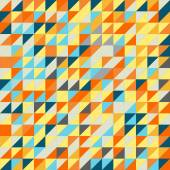 Seamless triangle pattern. Vector background. Geometric abstract texture — Stock Photo