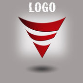 Technology styles logo design template. — Stock Photo