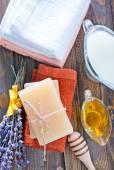 Handmade soap — Stock Photo