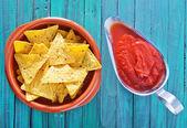 Nachos food — Stock Photo