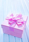 Box for present — Stock Photo