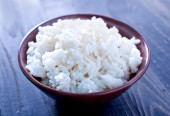 Boiled rice — Stock Photo