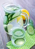 Cucumber drink — Stock Photo