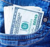 Dollarbiljetten — Stockfoto