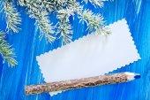 Christmas greeting — Stock Photo