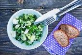 Ensalada verde fresca — Foto de Stock