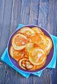 Pancakes on the plate — Stock Photo