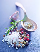 Aroma spice on the table — Stock Photo