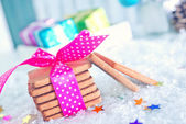 Sweet cookies on a table — Stock Photo