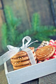 Biscuit sticks and cookies — Stock Photo