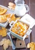 Pumpkin porridge — Stock Photo
