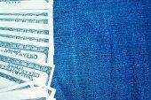 Sfondo dollari — Foto Stock