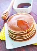 Sweet pancakes — Stock Photo