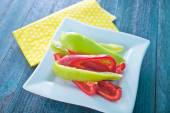 Color pepper — Stock Photo