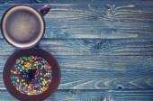 巧克力甜甜圈 — 图库照片