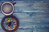 Schokoladen donuts — Stockfoto