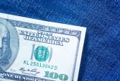 One hundred dollar banknote — Stock Photo
