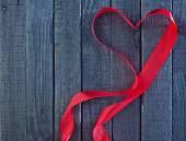 Red ribbon — Stock Photo