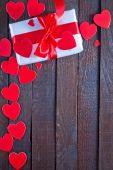 Background for Valentine's day — Stok fotoğraf