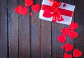 Background for Valentine's day — Stock fotografie