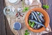 Ryby w misce — Zdjęcie stockowe