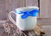 Fresh milk in jug — Stock Photo