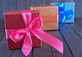 Tablo hediye kutusu — Stok fotoğraf