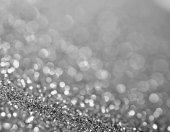 圣诞灯离焦模糊的背景 — 图库照片