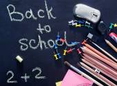 Schulmaterial — Stockfoto