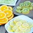 Kiwi and citrus slices — Stock Photo #67492809